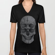 Skull Unisex V-Neck