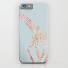 Pink Giraffe Slim Case iPhone 6s
