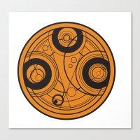 The Seal Of Rassilon Canvas Print
