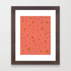 Happy and Healthy Framed Art Print