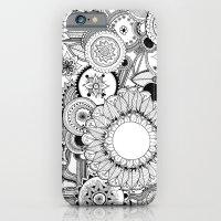 Floral Kaleidoscope  iPhone 6 Slim Case