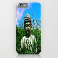 Buddha Looks Through Grass Slim Case iPhone 6s