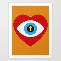 SPY LOVE Art Print