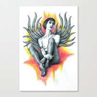 Tania Tentacles Canvas Print
