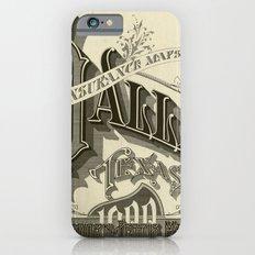 vintage typography iPhone 6 Slim Case