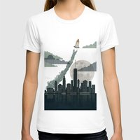 Rocket City Womens Fitted Tee White SMALL