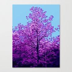 Flower Tree Canvas Print