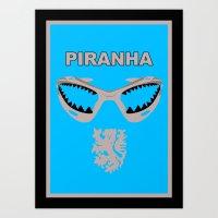 Edgar Davids - Piranha Art Print