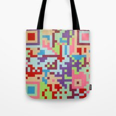 Number Two Multicolour  Tote Bag