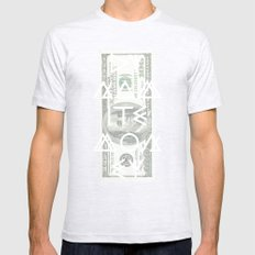 DYNAMITE MONEY Mens Fitted Tee Ash Grey SMALL