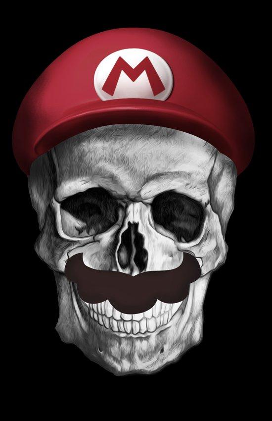 It's A-Me, Dead Mario! Art Print