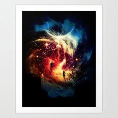 Surface to Air Art Print