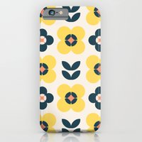 Vintage geometric flowers II iPhone 6 Slim Case