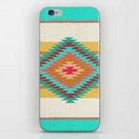 FIESTA (teal) iPhone & iPod Skin