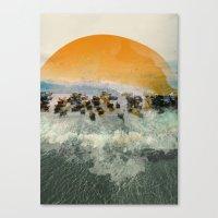 Near Harbor Canvas Print