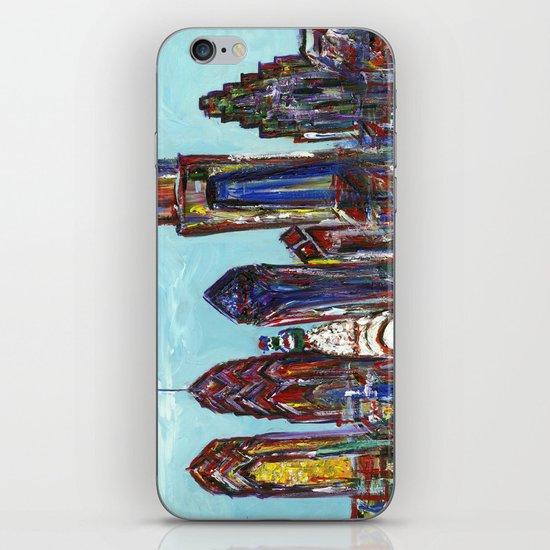 Philadelphia Skyline iPhone & iPod Skin