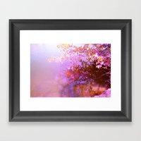 Plum Creek Framed Art Print