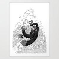 JENGGA! Art Print