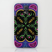 Galaxy S5 Cases featuring Frozen - Anna Pattern by Cina Catteau