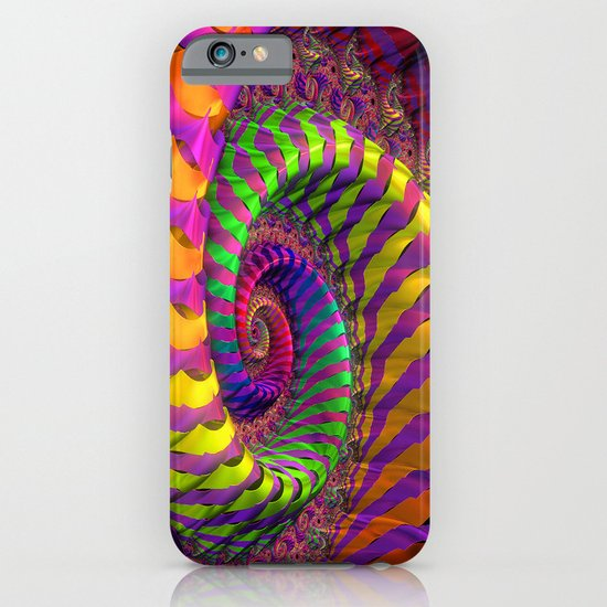 Coloured Spiral wheel iPhone & iPod Case