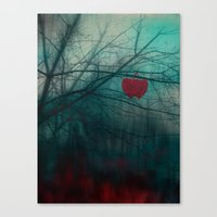 Strenght Of Love Canvas Print