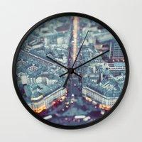 Paris, City of Lights. Wall Clock