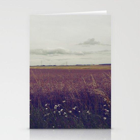 Autumn Field III Stationery Card