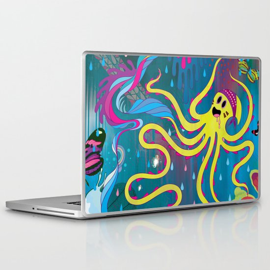 Every Time a Whale Blows Their Spout, a New Dream is Born. Laptop & iPad Skin