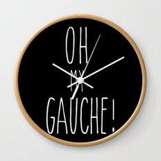 OMIGAUCHE! Wall Clock