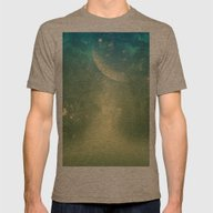 Mystical Forest Mens Fitted Tee Tri-Coffee SMALL