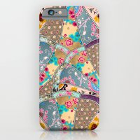 floral iPhone & iPod Cases featuring SEEING SOUND by Bianca Green