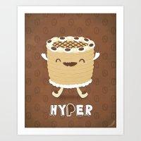 Coffee Cake Art Print