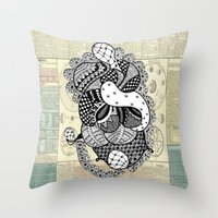 Kiss Untimely Throw Pillow