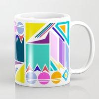 Geo Splash Mug