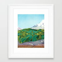 The Fabric Of Reality (f… Framed Art Print