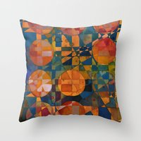 Her 12 Moons Throw Pillow