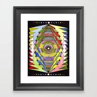 The Singular Vision Framed Art Print
