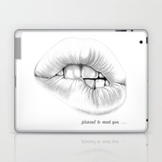 pleased to meet you ... Laptop & iPad Skin