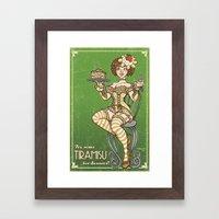 Tiramisu Framed Art Print