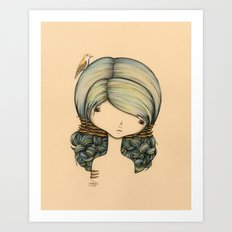 Anne n Belle Art Print