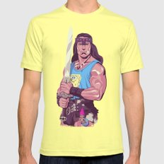 Conan the Barbarian Mens Fitted Tee Lemon SMALL