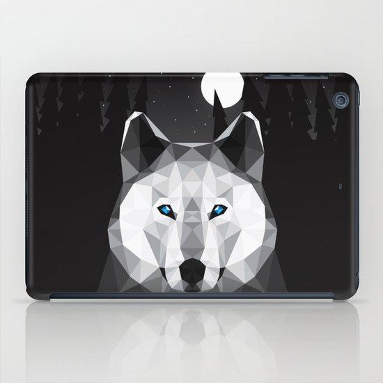 The Tundra Wolf iPad Case