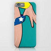 superheroes iPhone 6 Slim Case