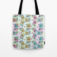 Mermaid Streams Tote Bag