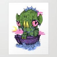 Lagoon Art Print