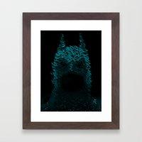 Dark Rising Framed Art Print