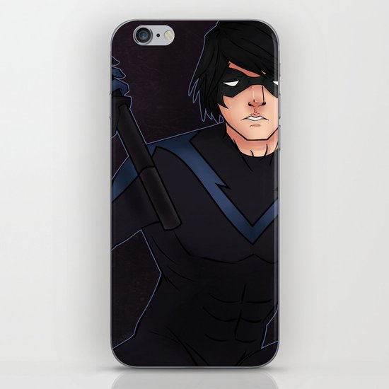 Nightwing iPhone & iPod Skin