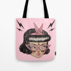 Gang Girl (black) Tote Bag
