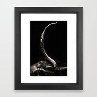 The Kraken's Whip Framed Art Print