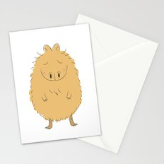 Thinking Capybara Stationery Cards